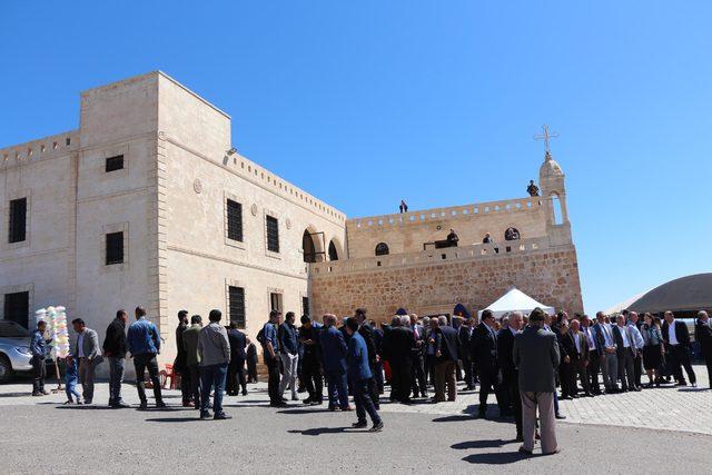 Manastır 100 yıl sonra ibadete açıldı