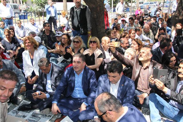 Hatay'da OHAL protestosu