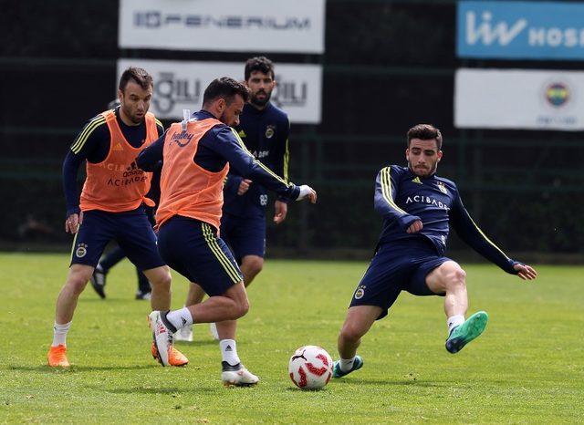 Fenerbahçe'de kupa derbisinin hazırlıkları başladı