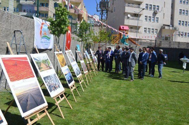 """Şırnak'ta """"Tarım ve İnsan"""" sergisi açıldı"""