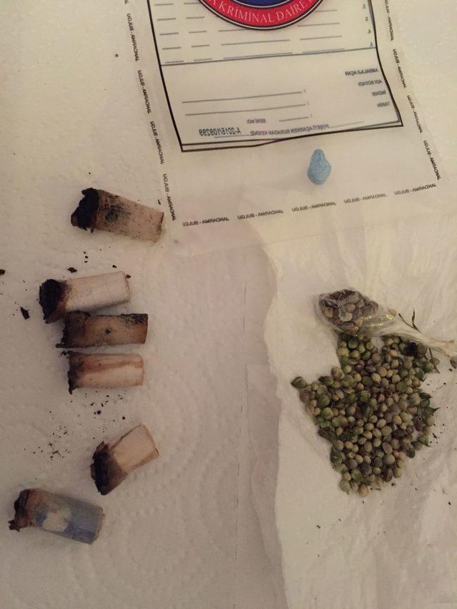 Düzce'de uyuşturucu şüphelisi tutuklandı