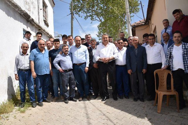 Başkan Çerçi ve Baybatur projeleri yerinde inceledi