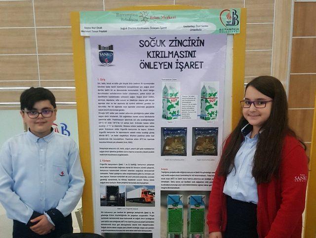 Ortaokul öğrencilerinden antimikrobiyal beton projesi
