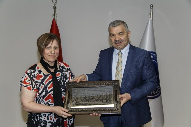 Kaymek'in Bosnalı kursiyerleri Kayseri'de