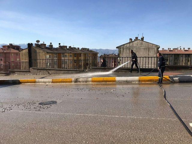Şırnak Belediyesi bahar temizliği başlattı