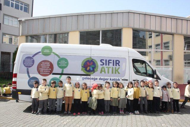 Trabzon'da 10 bin öğrenciye 'sıfır atık' bilinci