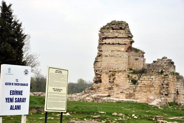 Edirne Sarayı ayağa kaldırılıp, turizme açılacak