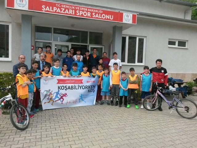 'Koşabiliyorken Koş' projesi ile Trabzon'da 7'den 70'e herkes sporla buluşuyor