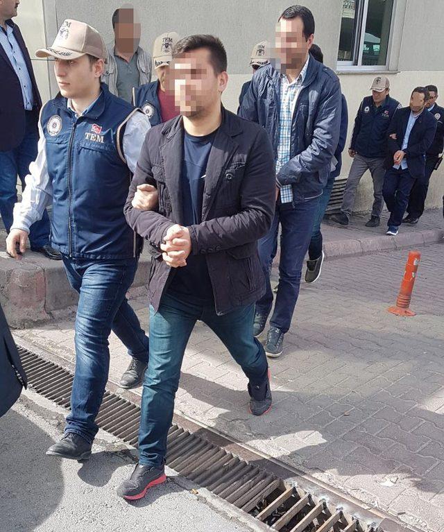 Kayseri merkezli 5 ilde FETÖ operasyonuna 9 tutuklama