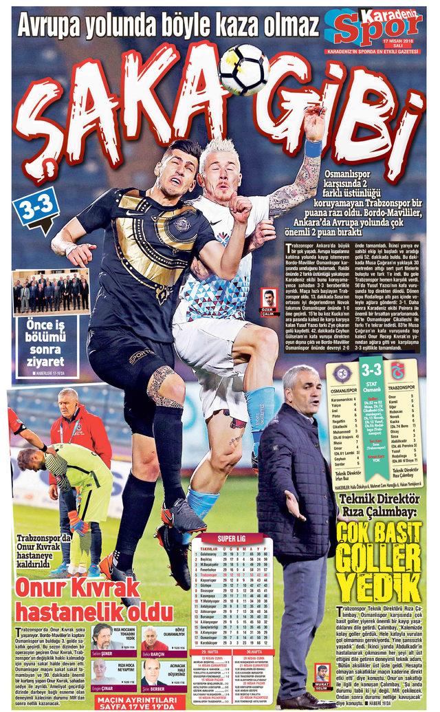 Trabzonspor kaçan puanlara yanıyor