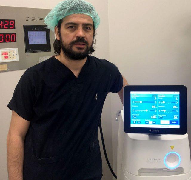 Adana Şehir Hastanesi'nde prostata kansız ve ağrısız çözüm