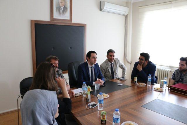 Üniversite öğrencileri Gökçebey'de ziyaretlerde bulundular
