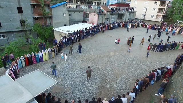 Şırnak'ta 3 gün 3 gece aşiret düğünü