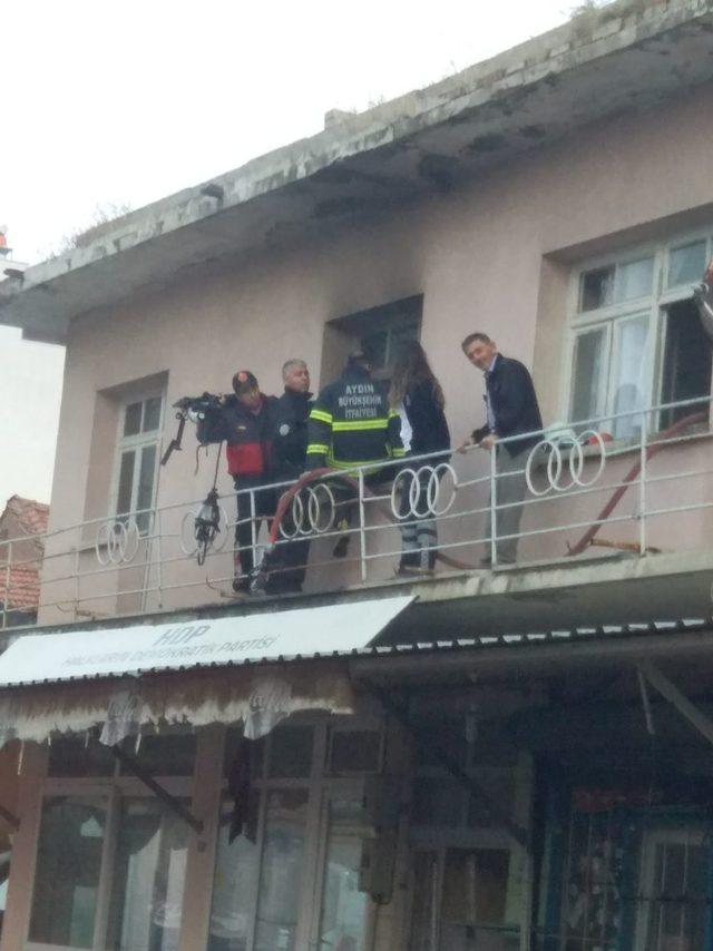 Suriyeli şahıs yatağı ile birlikte yanarak hayatını kaybetti