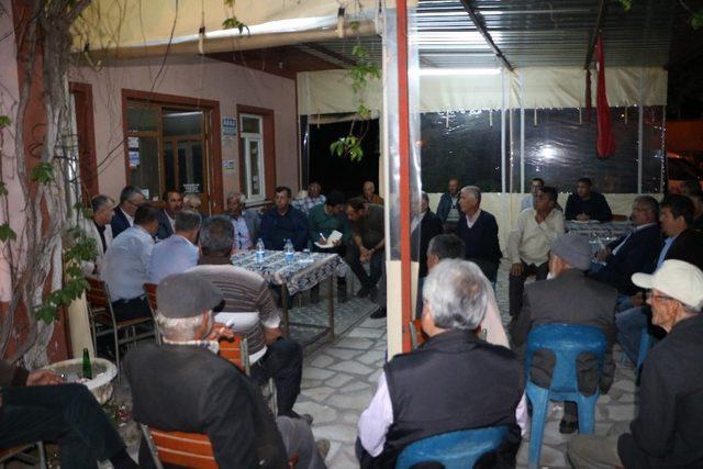 Büyükşehir Karacasu'yu dinledi
