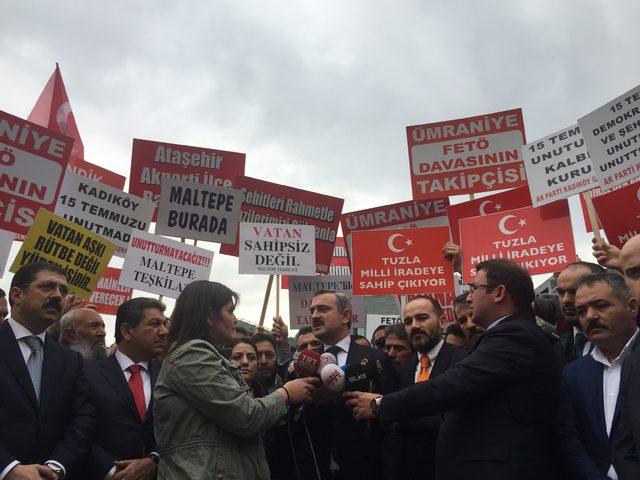 AK Parti İl Başkanı: En şiddetli cezanın bu hainlere verilmesini bekliyoruz