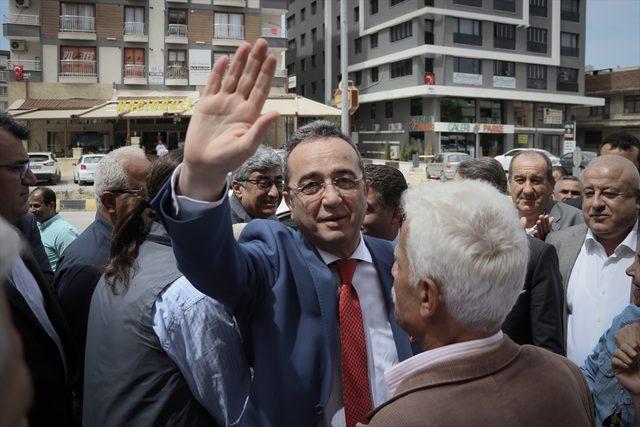 CHP Genel Başkan Yardımcısı Tezcan Hatay'da
