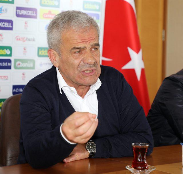 Çaykur Rizespor Kulübü Başkanı Hasan Kemal Yardımcı
