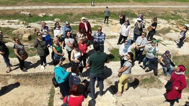 Fransa'dan gönül elçileri Adıyaman'ı gezdi