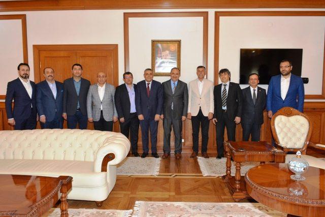 TSO yönetiminden Vali Kaban'a ziyaret