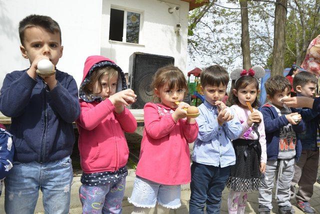 Çocukların gelişimine katkı devam ediyor