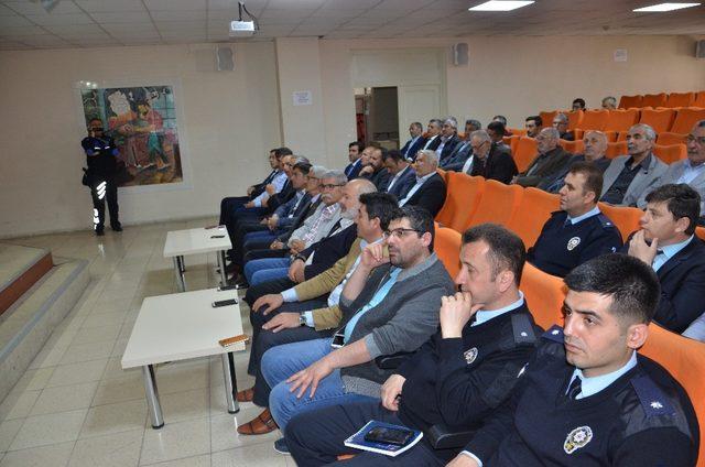 Malatya'da huzur toplantısı