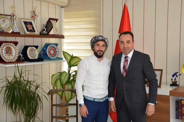 Türkiye Ragbi Federasyonu Başkanı Bilecik'te