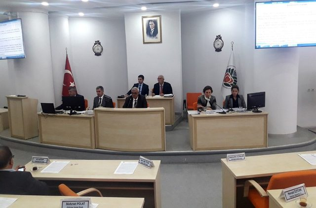 Büyükşehir Meclisi Nisan toplantısını tamamladı