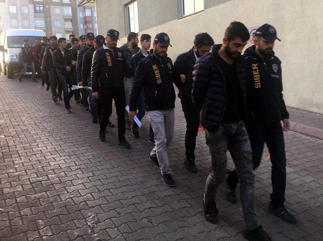 Banka müşterilerinin hesaplarını boşaltan çeteye operasyon: 17 gözaltı