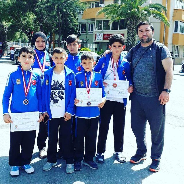 Genç sporculardan büyük başarı