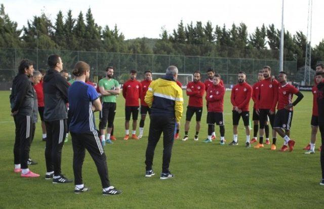 Gazişehir Gaziantep'te Ankaragücü maçı hazırlıklarına başladı