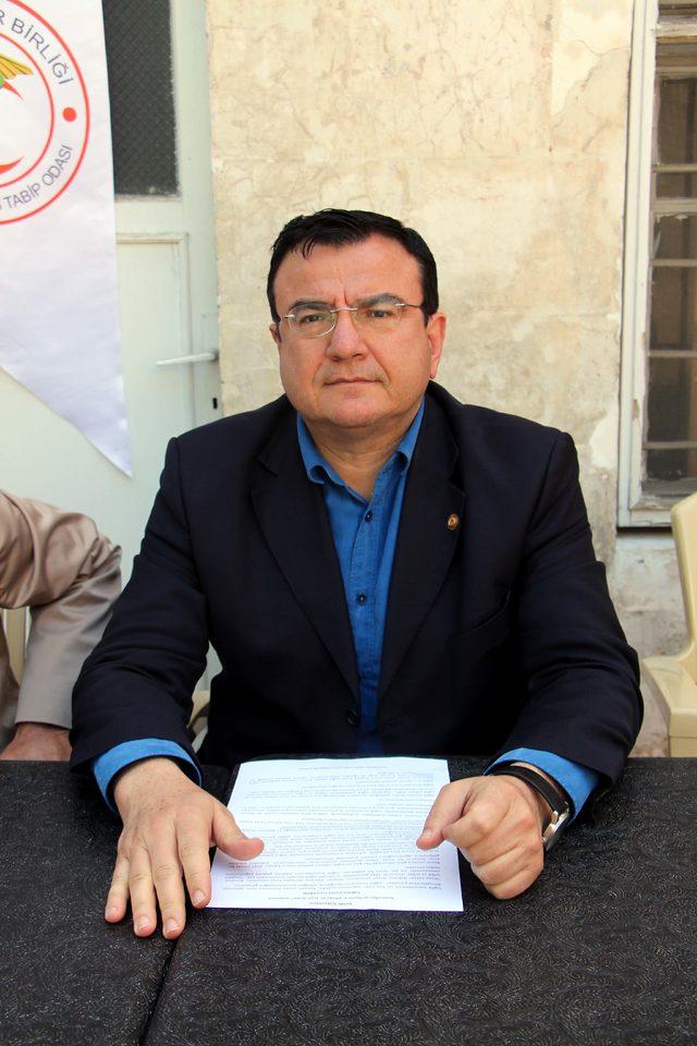 Tabipler Odası, Dr. Ersin Arslan'ı andı, şiddete tepki gösterdi