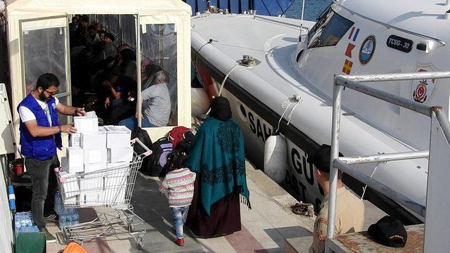 Çeşme'de 47 kaçak yakalandı