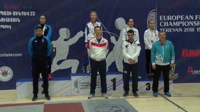23 Yaş Altı Avrupa Eskrim Şampiyonası'nda bronz madalya