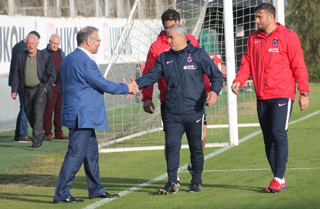 Trabzonspor, Sivasspor maçı hazırlıklarına başladı