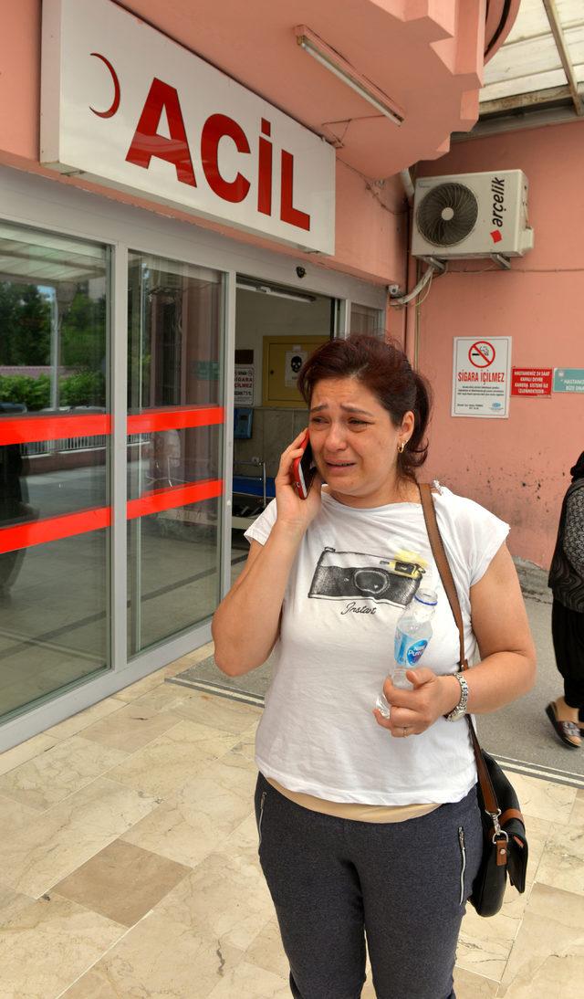 Parkomat görevlisinin saldırısına uğrayan kadın hastanelik oldu