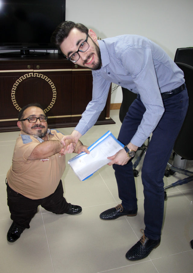 'Pire Ferhat' AK Parti'den vekillik için aday adaylığı başvurusu yaptı