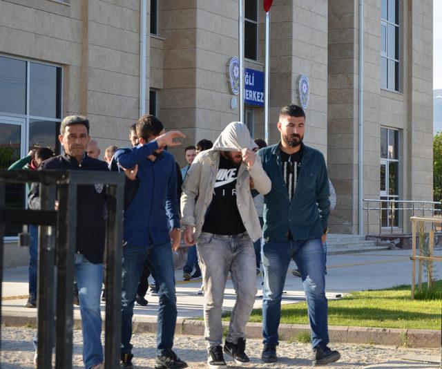 Konya'da uyuşturucuya 7 tutuklama