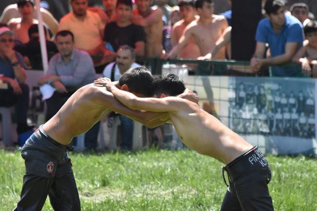 Konya'da 'Yağlı Pehlivan Güreşleri'