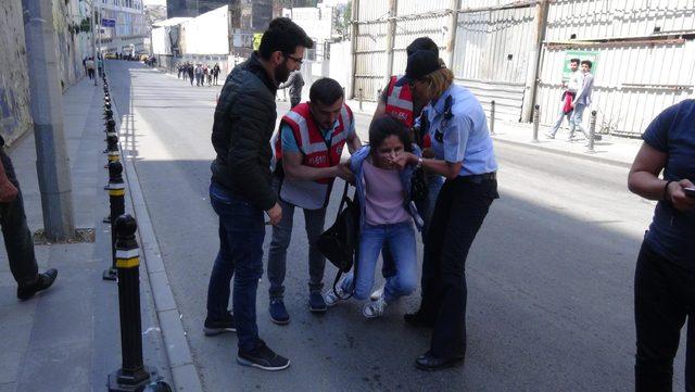 Taksim'de 1 kişi gözaltına alındı