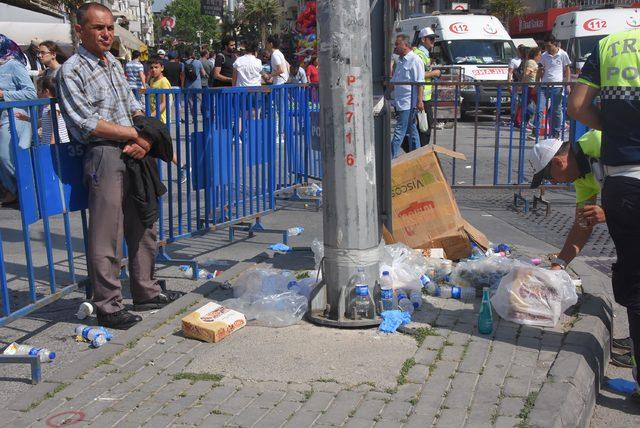İzmir'de coşkulu 1 Mayıs kutlaması (3)