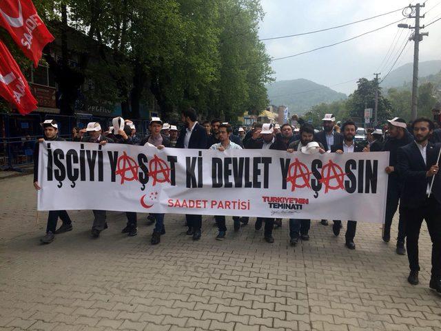 Zonguldak'ta 1 Mayıs coşkusu (2)