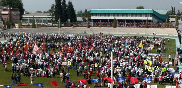 Bursa'da 1 Mayıs coşkusu (2)