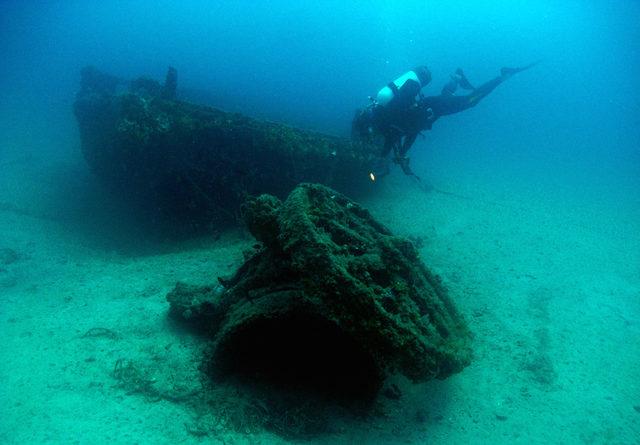 Çanakkale'de batık gemiler dalış turizmine katkı sunacak