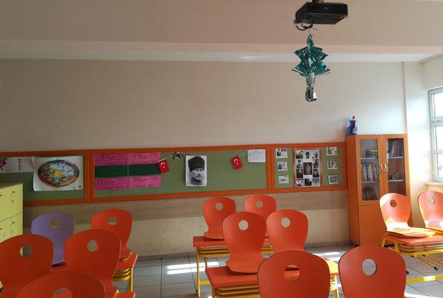 Antalya'da klimasız okul tepkisi