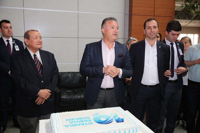 Sabiha Gökçen Havalimanı'nda 10'uncu yıl kutlaması