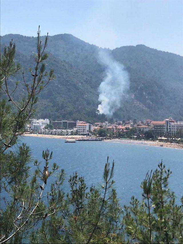 Marmaris'teki yangını 3 çocuk çıkarmış
