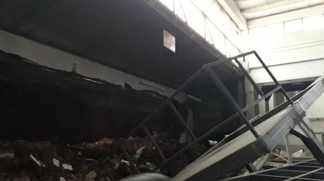 Gaziantep'te fabrika duvarı çöktü: 1 ölü
