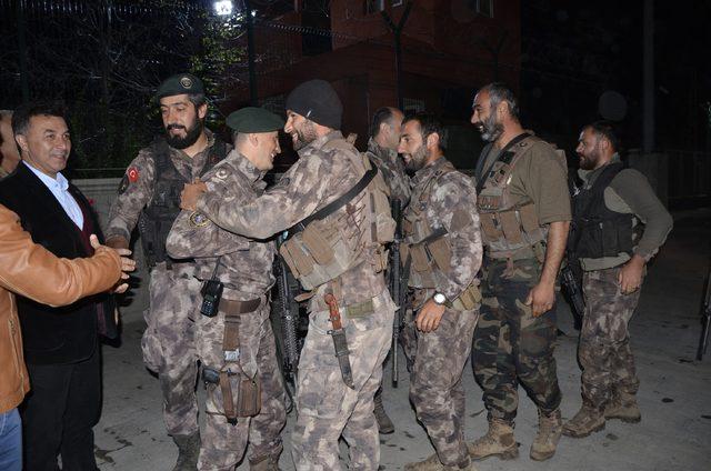 Afrin'e giden özel harekatçılar 2,5 ay sonra kente döndü