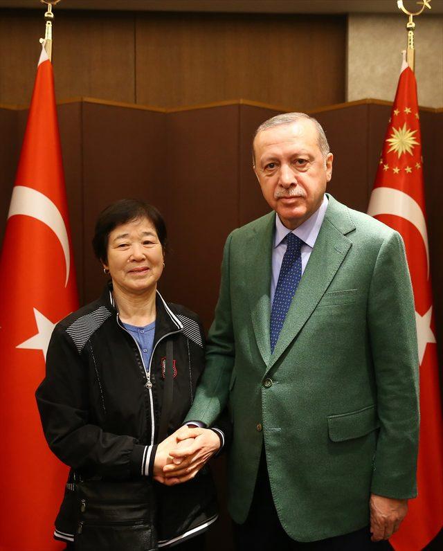 Cumhurbaşkanı Erdoğan, Güney Kore'de<br />